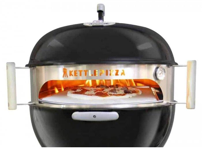 Ceinture acier du four à pizza bois Kettle KPB-22