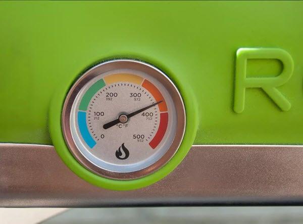 Thermomètre exterieur du Roccbox
