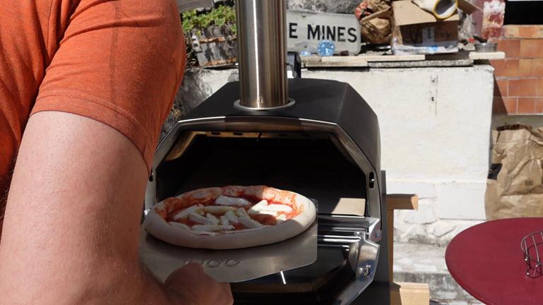 Pizza Margarita dans le Karu 16