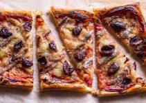 Recette pizza aux anchois
